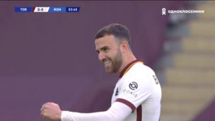 Торино — Рома. Серия А. 0:1 — видео гола Борхи Майораля