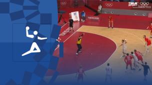 Олимпиада-2020. Гандбол (муж). 1/2 финала. Испания — Дания. Видео обзор