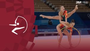 Олимпиада-2020. Художественная гимнастика (жен). Групповое многоборье. Финал. Видео моменты