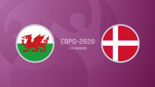 Уэльс — Дания — 0:4. Евро-2020. Обзор матча, видео голов и лучших моментов