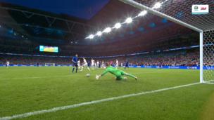 КРУТОЙ СЭЙВ Пикфорда после коварного удара Кьезы в финале Евро-2020 Италия — Англия