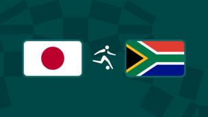 Олимпиада-2020. Футбол (муж). Япония — ЮАР