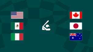 Олимпиада-2020. Софтбол. США — Канада, Мексика — Япония, Италия — Австралия