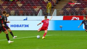 ВИДЕО! Удар Захаряна — самый опасный момент сборной России в матче с Хорватией