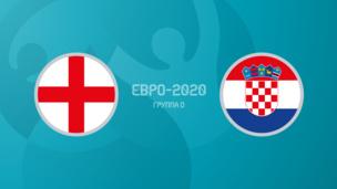 Англия — Хорватия. Евро-2020. 1 тур