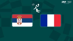 Олимпиада-2020. Баскетбол (жен). За третье место. Сербия — Франция