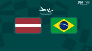 Олимпиада-2020. Пляжный волейбол (муж). 1/4 финала. Латвия — Бразилия