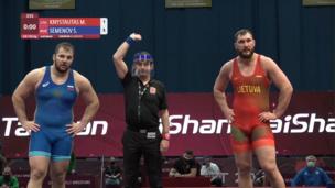 Все схватки и лучшие моменты Сергея Семенова на Европейском олимпийском лицензионном турнире
