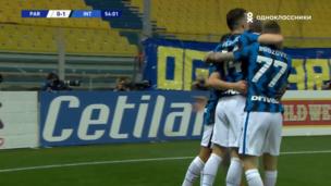 Парма — Интер. Серия А. 0:1 — видео гола Алексиса Санчеса