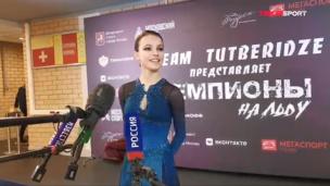 Интервью Анны Щербаковой про Урганта и четверные прыжки после шоу Тутберидзе