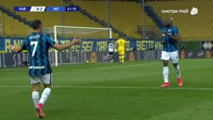Парма — Интер. Серия А. 0:2 — видео дубля Алексиса Санчеса