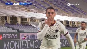 Фиорентина — Рома. Серия А. 0:1 — видео гола Леонардо Спинаццолы